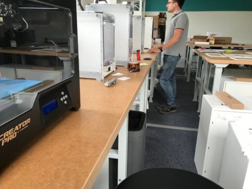 Unser wichtigstes Projekt: Der Werkstattaufbau