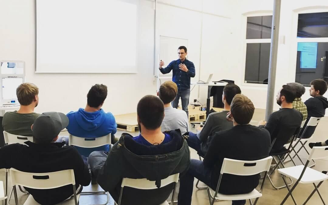 Immer auf Achse – Die 3D Startup Campus Workshops