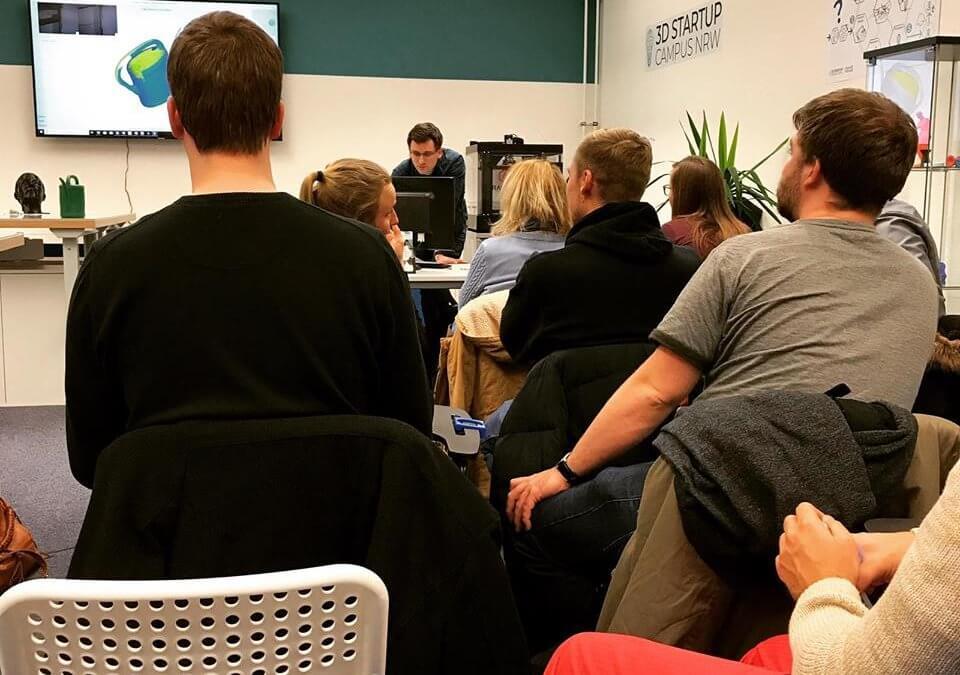 3D-Meetup: Vom Prototypen zum fertigen Produkt