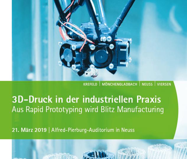 3D-Veranstaltung: Der 3D Startup Campus NRW stellt sich vor