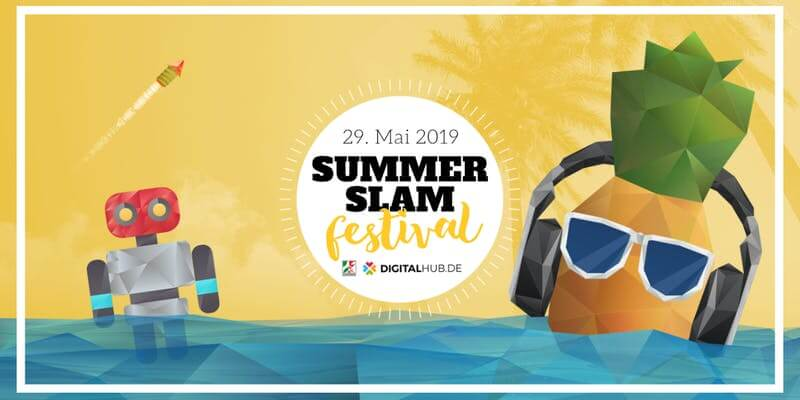 3D Startup Campus meets Digitalhub Summer Slam Festival