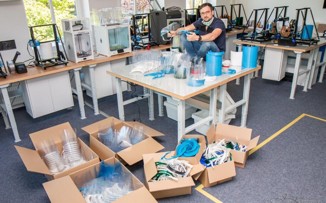 Der 3D Startup Campus NRW gegen Covid-19