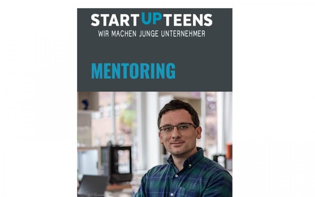 3D Startup Campus NRW ist Teil des Mentoren-Netzwerks von STARTUP TEENS