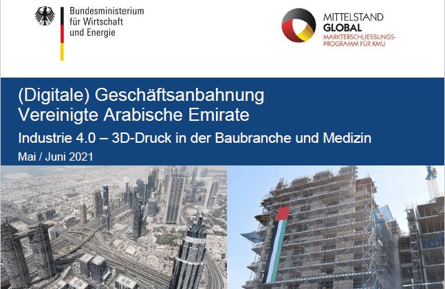 3D Startup Campus NRW neuer Kooperationspartner im Bereich Industrie 4.0 – 3D-Druck in der Baubranche und Medizin