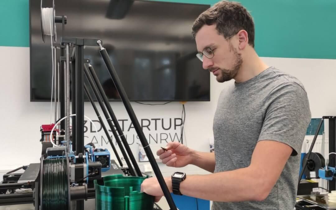 Hinter den Kulissen des 3D Startup Campus NRW: Die 3D Werkstatt