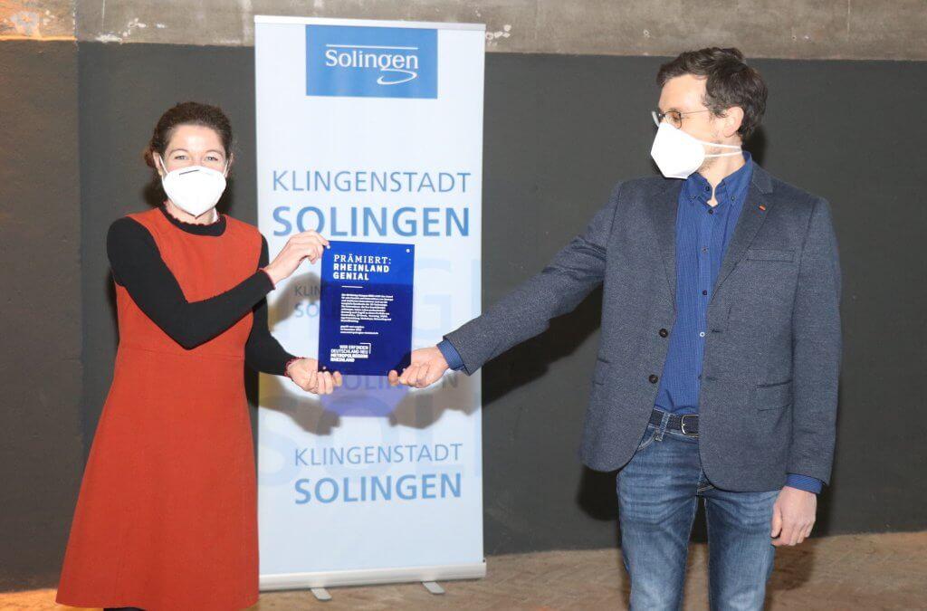 """3D Startup Campus NRW erhält Innovationspreis """"Rheinland genial"""""""