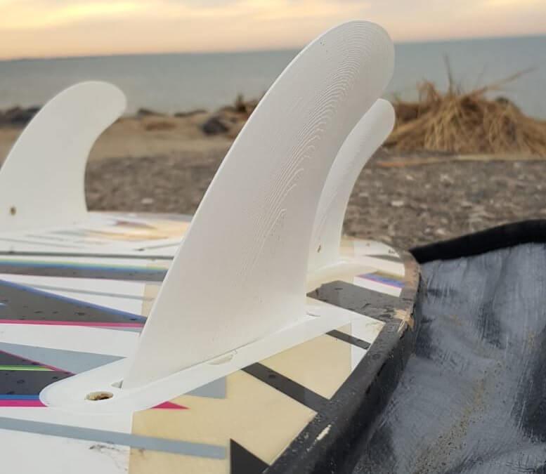 Surf-Finnen aus dem 3D Druck