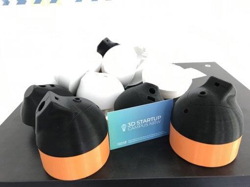 Startup Imbre entwickelt Desinfektionsspender zusammen mit der 3D Werkstatt